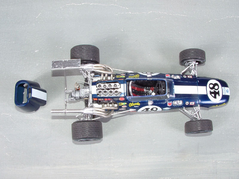 Dan Gurney S 1968 Olsonite Eagle